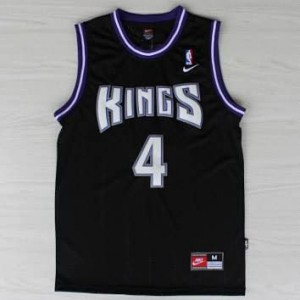Maglie Basket Webber Sacramento Kings Nero