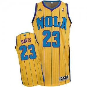 Canotte NBA Rivoluzione 30 Davis Charlotte Hornets Giallo