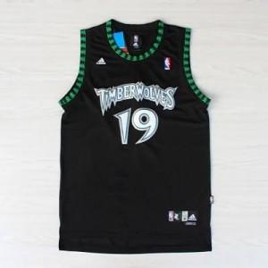 Maglie Basket retro Cassell Minnesota Timberwolves Nero