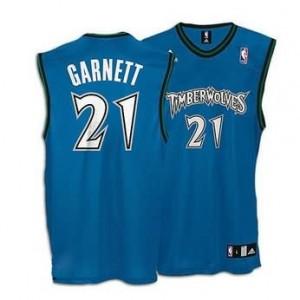 Maglie Basket retro Garnett Minnesota Timberwolves Blu