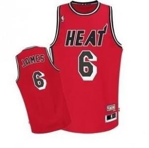 Canotte NBA Rivoluzione 30 retro James Miami Heats Rosso