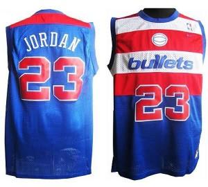 Maglie retro Jordan Washington Wizards Blu