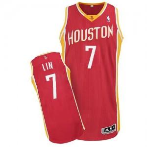 Canotte NBA Rivoluzione 30 retro Lin Houston Rockets Rosso