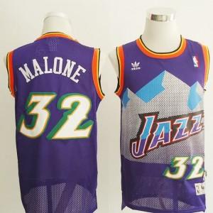 Maglie Basket retro Malone Utah Jazz Porpora