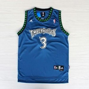 Maglie Basket retro Marbury Minnesota Timberwolves Blu