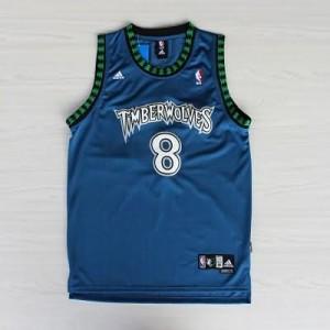 Maglie Basket retro Mssury Minnesota Timberwolves Blu