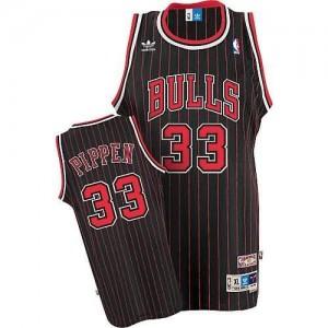 Maglie Basket Pippen Chicago Bulls Nero