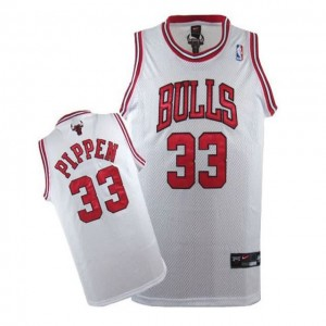 Maglie Basket Pippen Chicago Bulls Bianco