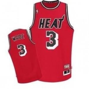 Canotte NBA Rivoluzione 30 retro Wade Miami Heats Rosso
