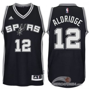Maglie Shop Aldridge San Antonio Spurs Nero