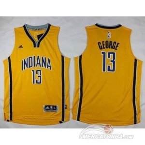 Maglie Bambini Indiana George Houston Rockets Giallo