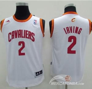 Maglie Bambini Irving Cleveland Cavaliers Bianco
