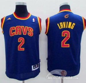Maglie Bambini Irving Cleveland Cavaliers Blu