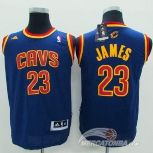 Maglie Bambini James Cleveland Cavaliers Blu