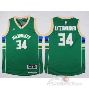 Maglie Bambini Antetokounmpo Minnesota Timberwolves Verde
