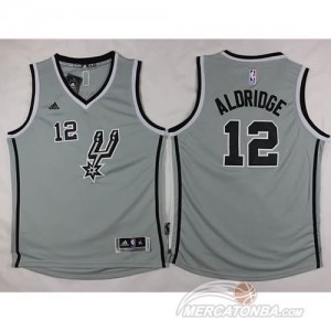 Maglie Bambini Aldridge San Antonio Spurs Giallo