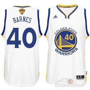 Canotte NBA Rivoluzione 30 Bogut Golden State Warriors Bianco