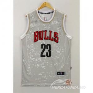 Canotte Basket Luces Bulls Jordan Grigio