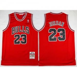 Maglie Basket Retro Jordan 97-98 Chicago Bulls Rosso
