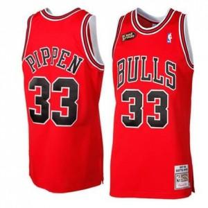 Maglie Basket Retro Pippen 97-98 Chicago Bulls Rosso