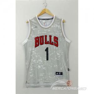 Canotte Basket Luces Bulls Rose Grigio