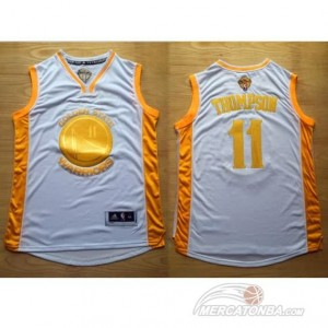 Maglie Shop Campeon Thompson Golden State Warriors Oro