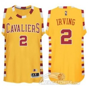 Maglie Basket Irving Cleveland Cavaliers Giallo