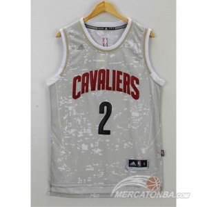 Canotte Basket Luces Cavaliers Irving Grigio