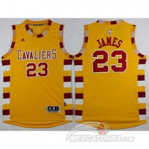 Maglie Basket James Cleveland Cavaliers Giallo
