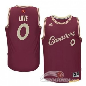 Maglie Basket Love Cleveland Cavaliers Rosso