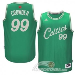 Maglie Shop Crowder Christmas Boston Celtics Verde