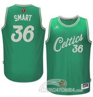 Maglie Basket Smart Christmas Boston Celtics Verde