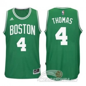 Maglie Basket Thomas Christmas Boston Celtics Verde