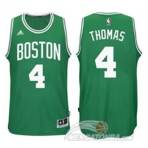 Maglie Basket Thomas Christmas Boston Celtics Verde