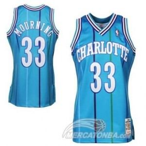Canotte Basket Charlotte Mourning New Orleans Hornets Blu