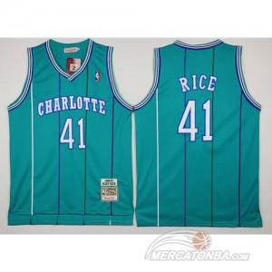 Canotte Basket Charlotte Rice New Orleans Hornets Verde