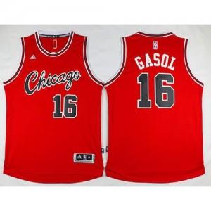 Maglie Basket Retro Gasol Chicago Bulls Rosso