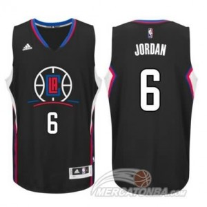 Maglie Basket Jordan Los Angeles Clippers Nero