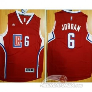 Maglie Basket Jordan Los Angeles Clippers Rosso
