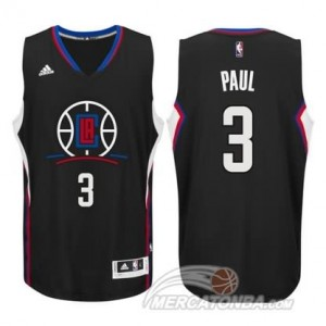 Maglie Basket Paul Los Angeles Clippers Nero
