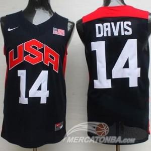 Canotte Davis USA 2012 Nero
