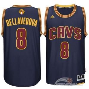 Canotte NBA Rivoluzione 30 Dellavedova Cleveland Cavaliers Blu