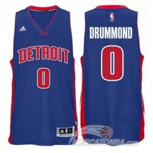 Maglie Shop Drummond Detroit Pistons Pistons Blu