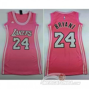 Maglie NBA Donna Bryant Los Angeles Lakers Rosa