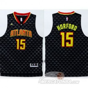 Maglie Basket Horford Atlanta Hawks Nero