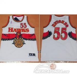 Maglie Basket Mutombo Atlanta Hawks Bianco