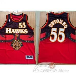 Maglie Basket Mutombo Atlanta Hawks Rosso