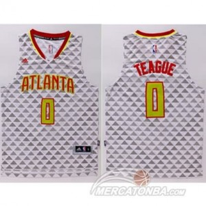 Maglie Basket Teague Atlanta Hawks Bianco