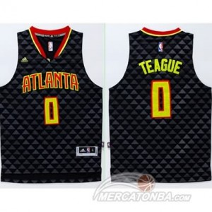 Maglie Basket Teague Atlanta Hawks Nero