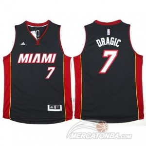 Maglie Shop Dragic Miami Heats Nero